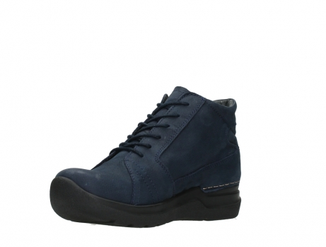 wolky lace up boots 06606 why 11800 blue nubuck_10