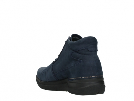 wolky lace up boots 06606 why 11800 blue nubuck_17