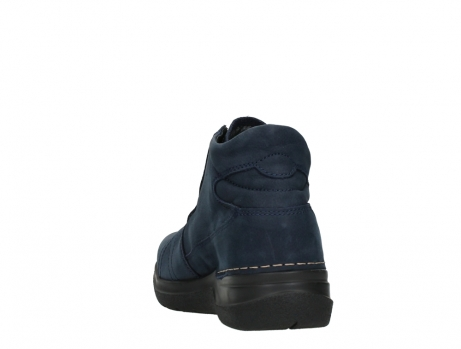 wolky lace up boots 06606 why 11800 blue nubuck_18