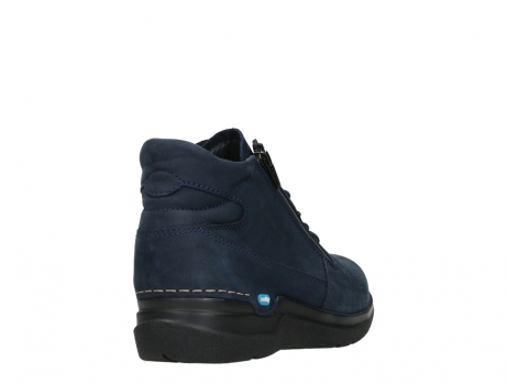 wolky lace up boots 06606 why 11800 blue nubuck_21