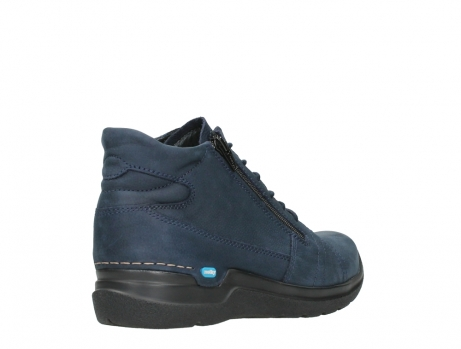 wolky lace up boots 06606 why 11800 blue nubuck_22