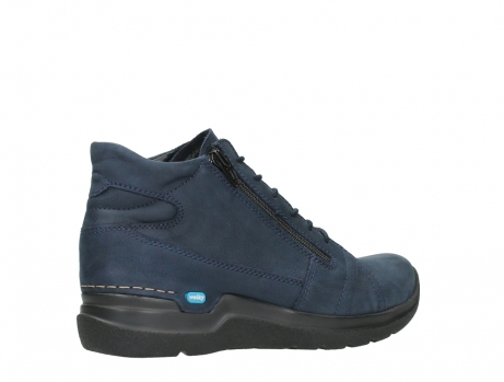 wolky lace up boots 06606 why 11800 blue nubuck_23