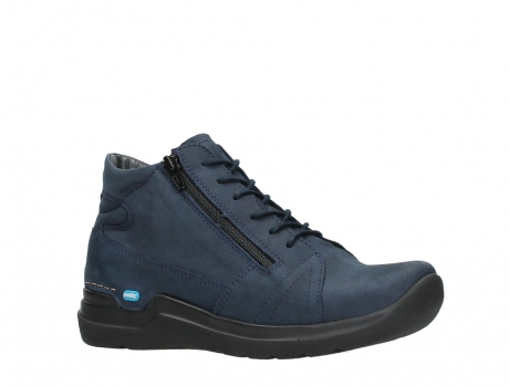 wolky lace up boots 06606 why 11800 blue nubuck_3