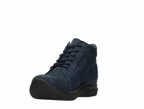 wolky lace up boots 06606 why 11800 blue nubuck_9