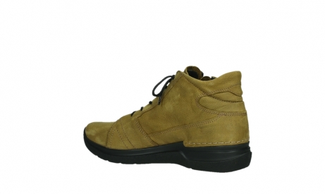 wolky lace up boots 06606 why 11940 mustard nubuckleather_15