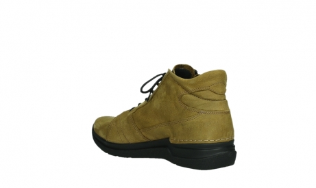 wolky lace up boots 06606 why 11940 mustard nubuckleather_16