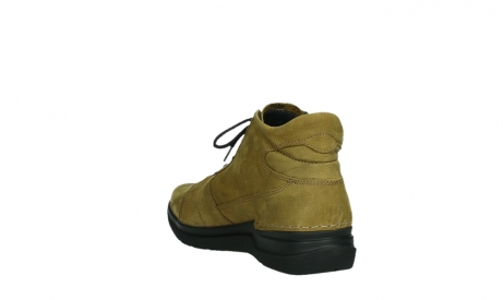 wolky lace up boots 06606 why 11940 mustard nubuckleather_17