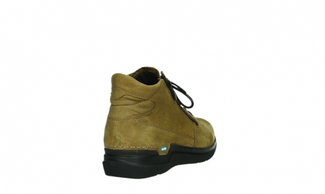 wolky lace up boots 06606 why 11940 mustard nubuckleather_21