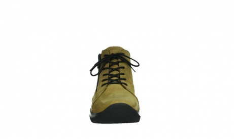wolky lace up boots 06606 why 11940 mustard nubuckleather_7