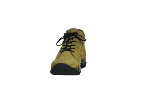 wolky lace up boots 06606 why 11940 mustard nubuckleather_8
