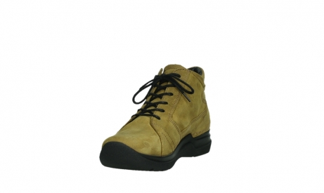 wolky lace up boots 06606 why 11940 mustard nubuckleather_9