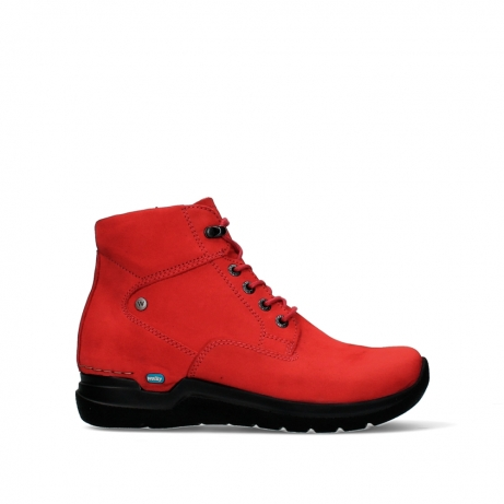 wolky lace up boots 06612 whynot 16505 dark red nubuck