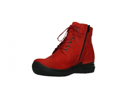 wolky lace up boots 06612 whynot 16505 dark red nubuck_10