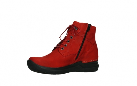 wolky lace up boots 06612 whynot 16505 dark red nubuck_11