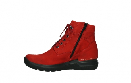 wolky lace up boots 06612 whynot 16505 dark red nubuck_12