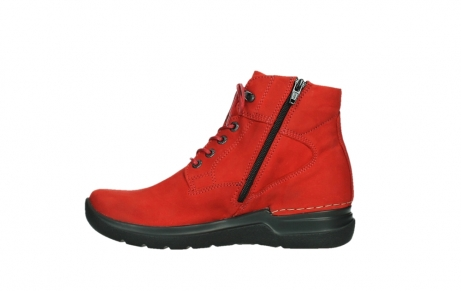wolky lace up boots 06612 whynot 16505 dark red nubuck_13