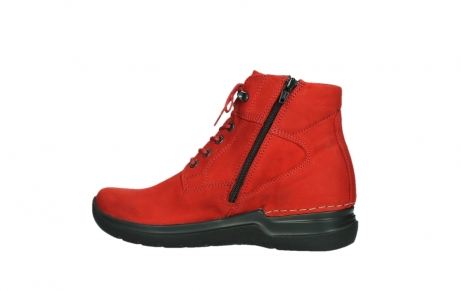 wolky lace up boots 06612 whynot 16505 dark red nubuck_14