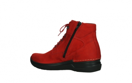 wolky lace up boots 06612 whynot 16505 dark red nubuck_15