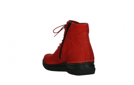wolky lace up boots 06612 whynot 16505 dark red nubuck_17