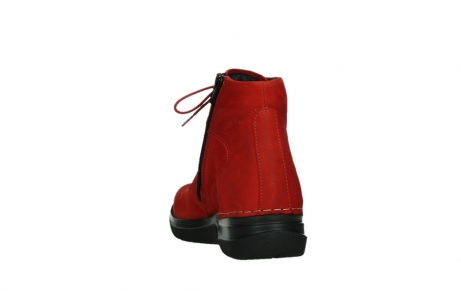 wolky lace up boots 06612 whynot 16505 dark red nubuck_18