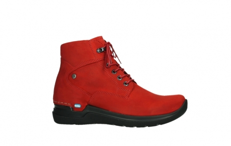 wolky lace up boots 06612 whynot 16505 dark red nubuck_2