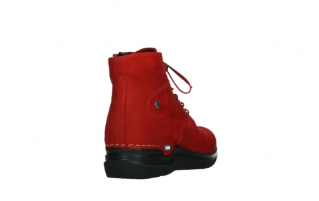 wolky lace up boots 06612 whynot 16505 dark red nubuck_21