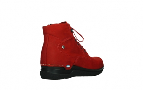 wolky lace up boots 06612 whynot 16505 dark red nubuck_22