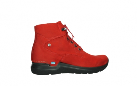 wolky lace up boots 06612 whynot 16505 dark red nubuck_24