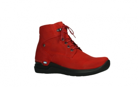 wolky lace up boots 06612 whynot 16505 dark red nubuck_3