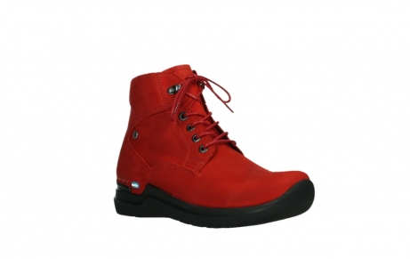 wolky lace up boots 06612 whynot 16505 dark red nubuck_4