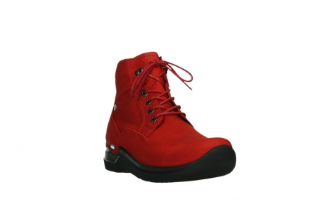 wolky lace up boots 06612 whynot 16505 dark red nubuck_5