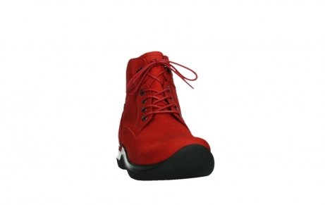 wolky lace up boots 06612 whynot 16505 dark red nubuck_6