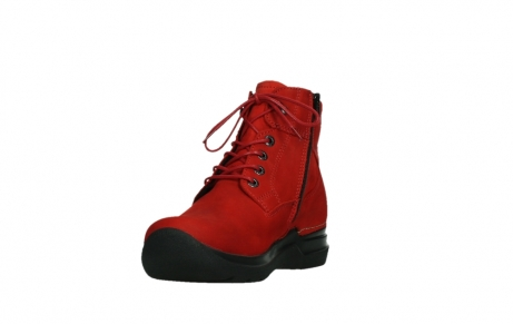 wolky lace up boots 06612 whynot 16505 dark red nubuck_9
