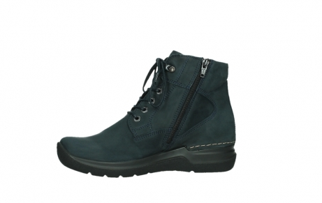 wolky lace up boots 06612 whynot 16800 blue nubuck_12