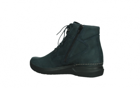 wolky lace up boots 06612 whynot 16800 blue nubuck_15