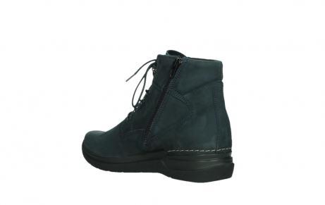 wolky lace up boots 06612 whynot 16800 blue nubuck_16