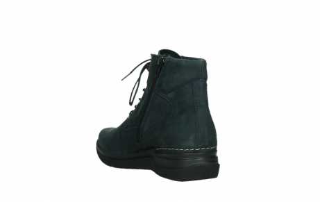 wolky lace up boots 06612 whynot 16800 blue nubuck_17