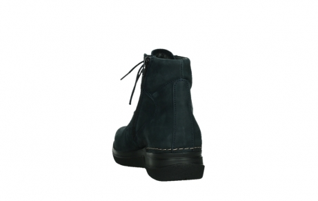 wolky lace up boots 06612 whynot 16800 blue nubuck_18