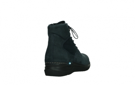 wolky lace up boots 06612 whynot 16800 blue nubuck_21