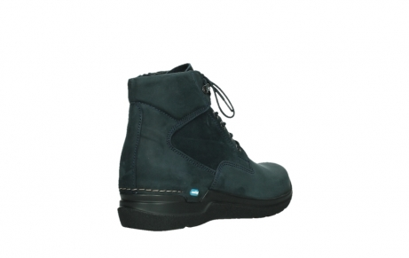 wolky lace up boots 06612 whynot 16800 blue nubuck_22