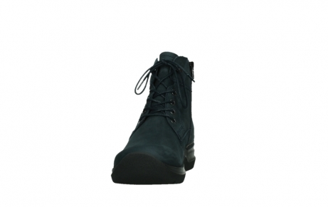 wolky lace up boots 06612 whynot 16800 blue nubuck_8
