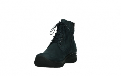 wolky lace up boots 06612 whynot 16800 blue nubuck_9
