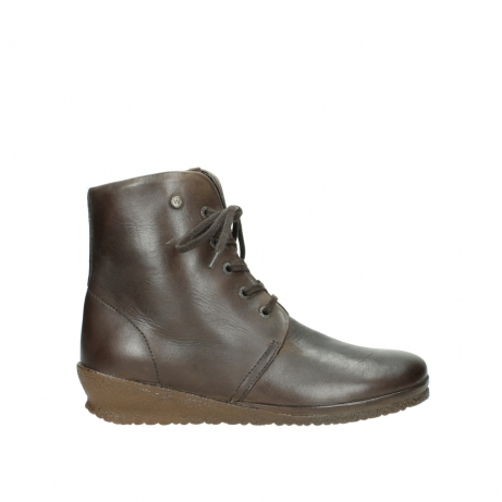 wolky lace up boots 07252 madera 50150 taupe oiled leather