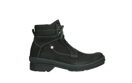 wolky lace up boots 07645 latky 13000 black nubuckleather_1