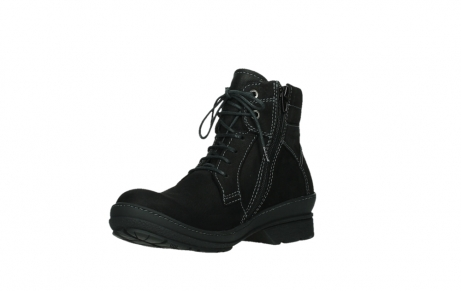 wolky lace up boots 07645 latky 13000 black nubuckleather_10