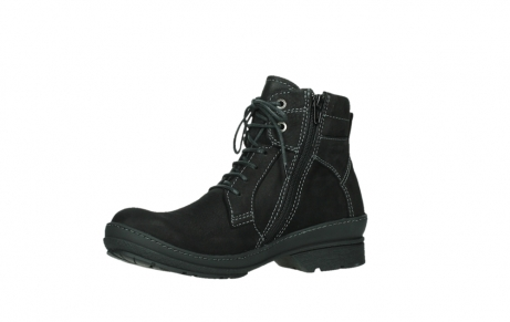 wolky lace up boots 07645 latky 13000 black nubuckleather_11