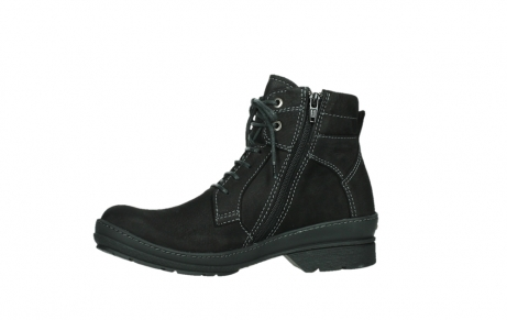 wolky lace up boots 07645 latky 13000 black nubuckleather_12