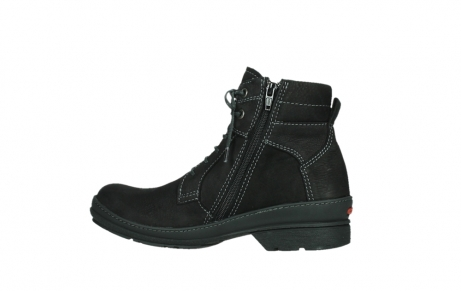 wolky lace up boots 07645 latky 13000 black nubuckleather_14