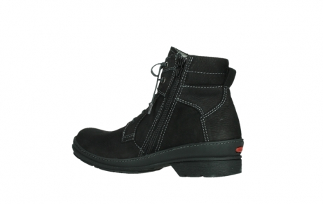 wolky lace up boots 07645 latky 13000 black nubuckleather_15