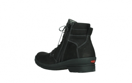 wolky lace up boots 07645 latky 13000 black nubuckleather_16